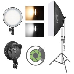 Softbox Led C/dimmer...